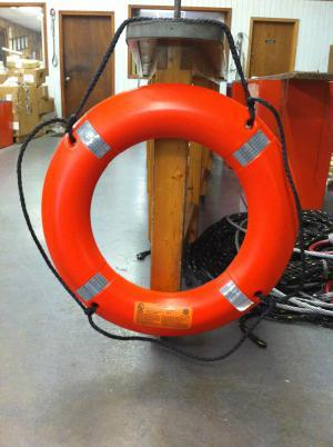 Life Ring Deck Bouy